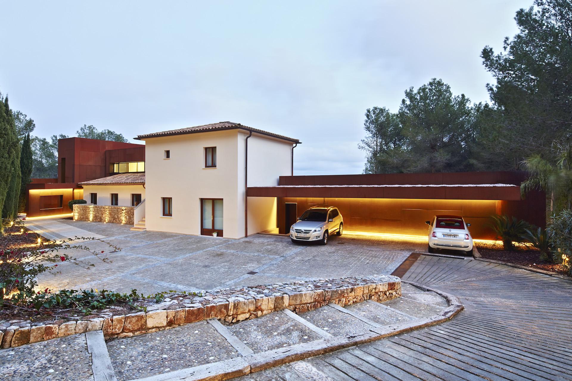 Single family houses son vida alibaz construcci n - Empresas de construccion en mallorca ...