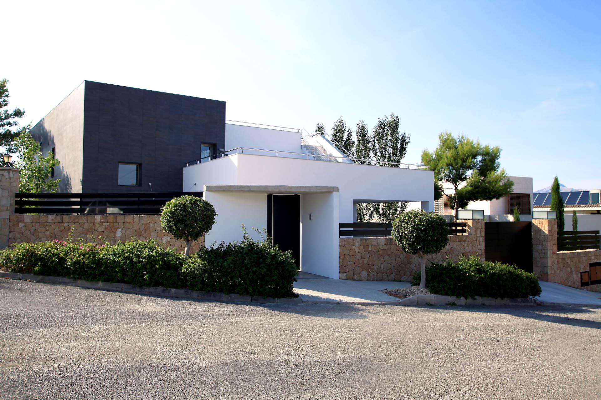 Single family house t18 alibaz construcci n empresa - Empresas de construccion en mallorca ...